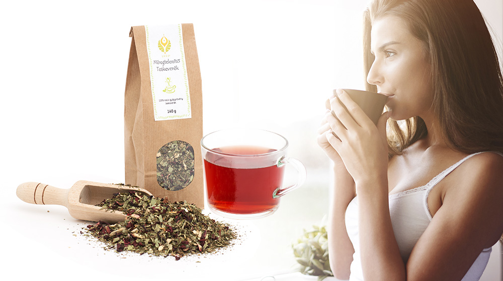 méregtelenítő teakeverék